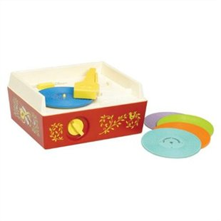 Newest version of the Fisher Price Turntable