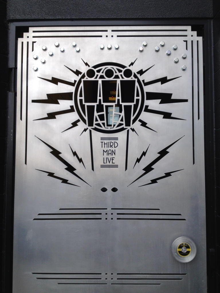 The entrance to Third Man Records