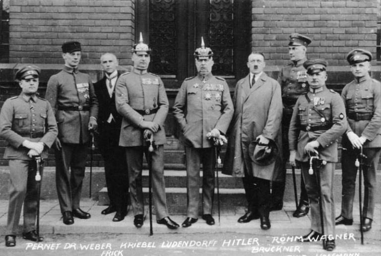 Beer-Hall-Putsch-Defendants